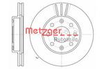 Tarcza hamulcowa METZGER 6110257 METZGER 6110257