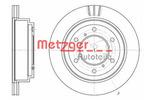 Tarcza hamulcowa METZGER 6955.10