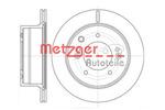 Tarcza hamulcowa METZGER 6993.10