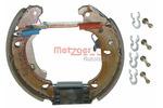 Szczęki hamulcowe - komplet METZGER MG 828V (Oś tylna)