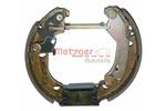 Szczęki hamulcowe - komplet METZGER MG 828V (Oś tylna)-Foto 2