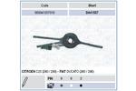Przełącznik kolumny kierowniczej MAGNETI MARELLI 000041557010 MAGNETI MARELLI 000041557010