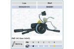 Przełącznik kolumny kierowniczej MAGNETI MARELLI 000042391010