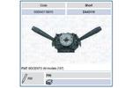 Przełącznik kolumny kierowniczej MAGNETI MARELLI 000043119010 MAGNETI MARELLI 000043119010