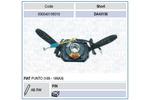 Przełącznik kolumny kierowniczej MAGNETI MARELLI 000043156010 MAGNETI MARELLI 000043156010