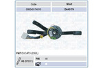 Przełącznik kolumny kierowniczej MAGNETI MARELLI 000043174010 MAGNETI MARELLI 000043174010