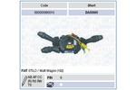 Przełącznik kolumny kierowniczej MAG 000050060010