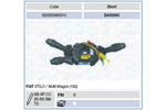 Przełącznik kolumny kierowniczej MAGNETI MARELLI 000050060010 MAGNETI MARELLI 000050060010