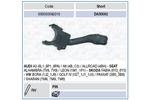 Przełącznik kolumny kierowniczej MAGNETI MARELLI 000050092010
