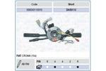 Przełącznik kolumny kierowniczej MAGNETI MARELLI 000050113010 MAGNETI MARELLI 000050113010