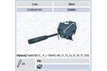 Przełącznik kolumny kierowniczej MAGNETI MARELLI 510033451501 MAGNETI MARELLI 510033451501
