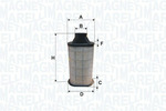 Filtr powietrza MAGNETI MARELLI 153071762355 MAGNETI MARELLI 153071762355