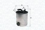 Filtr paliwa MAGNETI MARELLI  153071760250-Foto 2