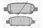 Klocki hamulcowe - komplet MAGNETI MARELLI  363916060350
