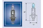 Żarówka reflektora dalekosiężnego MAGNETI MARELLI  002601100000-Foto 2