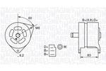 Alternator MAGNETI MARELLI  063324264010