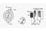 Alternator MAGNETI MARELLI  063321332010