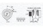 Alternator MAGNETI MARELLI  063321347010