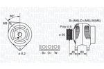 Alternator MAGNETI MARELLI  063341343010