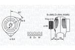 Alternator MAGNETI MARELLI  063341695010