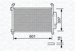 Chłodnica klimatyzacji - skraplacz MAGNETI MARELLI  350203664000