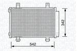 Chłodnica klimatyzacji - skraplacz MAGNETI MARELLI  350203673000