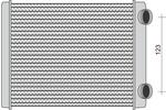 Nagrzewnica ogrzewania kabiny MAGNETI MARELLI 350218299000 MAGNETI MARELLI 350218299000