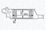Chłodnica powietrza doładowującego - intercooler MAGNETI MARELLI 351319202130 MAGNETI MARELLI 351319202130