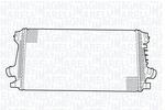 Chłodnica powietrza doładowującego - intercooler MAGNETI MARELLI 351319203400 MAGNETI MARELLI 351319203400