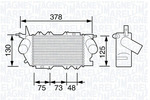 Chłodnica powietrza doładowującego - intercooler MAGNETI MARELLI 351319203490 MAGNETI MARELLI 351319203490