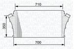 Chłodnica powietrza doładowującego - intercooler MAGNETI MARELLI 351319203500 MAGNETI MARELLI 351319203500