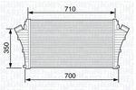 Chłodnica powietrza doładowującego - intercooler MAGNETI MARELLI 351319203510 MAGNETI MARELLI 351319203510