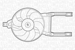 Wentylator chłodnicy silnika MAGNETI MARELLI 069422204010