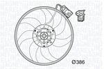 Wentylator chłodnicy silnika MAGNETI MARELLI  069422569010