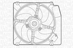 Wentylator chłodnicy silnika MAGNETI MARELLI 069402251010