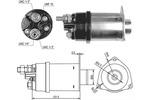 Włącznik elektromagnetyczny, rozrusznik MAGNETI MARELLI 940113050027 MAGNETI MARELLI  940113050027