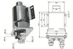 Włącznik elektromagnetyczny, rozrusznik MAGNETI MARELLI 940113050341 MAGNETI MARELLI  940113050341