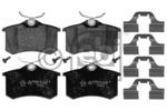 Klocki hamulcowe - komplet FEBI BILSTEIN 116026