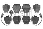 Klocki hamulcowe - komplet FEBI BILSTEIN 116218