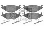 Klocki hamulcowe - komplet FEBI BILSTEIN 16011