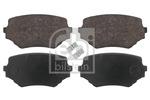 Klocki hamulcowe - komplet FEBI BILSTEIN  16647 (Oś przednia)-Foto 2
