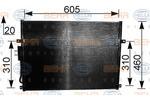 Chłodnica klimatyzacji - skraplacz BEHR HELLA SERVICE 8FC351037481