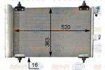 Chłodnica klimatyzacji - skraplacz BEHR HELLA SERVICE 8FC351301034