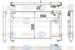 Chłodnica klimatyzacji - skraplacz BEHR HELLA SERVICE 8FC 351 306-131 BEHR HELLA SERVICE 8FC351306-131