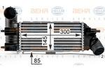 Chłodnica powietrza doładowującego - intercooler BEHR HELLA SERVICE 8ML 376 700-741 BEHR HELLA SERVICE 8ML376700-741