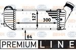 Chłodnica powietrza doładowującego - intercooler BEHR HELLA SERVICE 8ML 376 723-371 BEHR HELLA SERVICE 8ML376723-371