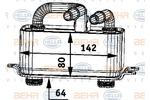 Chłodnica oleju silnikowego BEHR HELLA SERVICE 8MO 376 726-371 BEHR HELLA SERVICE 8MO376726-371