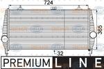 Chłodnica powietrza doładowującego - intercooler BEHR HELLA SERVICE 8ML 376 746-231 BEHR HELLA SERVICE 8ML376746-231