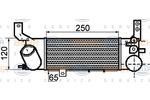 Chłodnica powietrza doładowującego - intercooler BEHR HELLA SERVICE 8ML 376 756-551 BEHR HELLA SERVICE 8ML376756-551