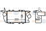 Chłodnica powietrza doładowującego - intercooler BEHR HELLA SERVICE 8ML 376 776-431 BEHR HELLA SERVICE 8ML376776-431